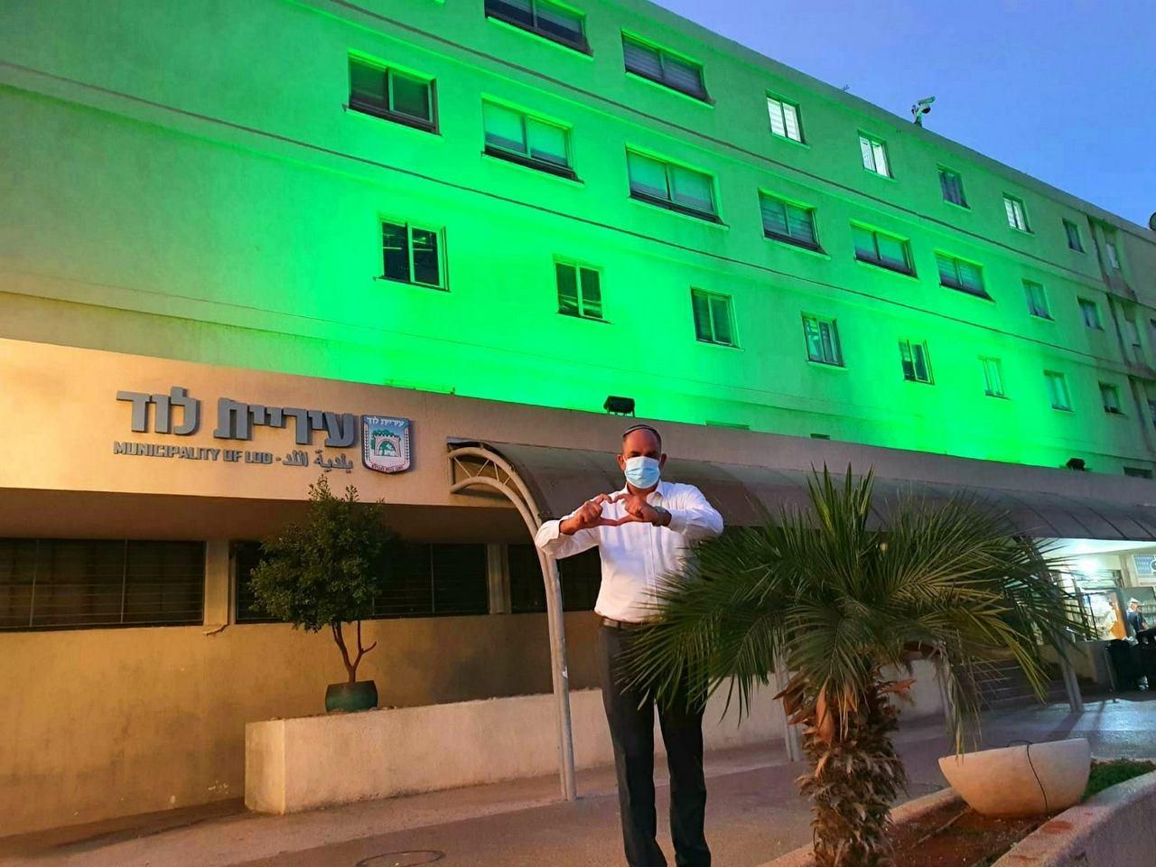 יאיר רביבו, התעוררנו בלוד עם ירוק בריא בעיניים, הרבה בזכות התושבים היקרים