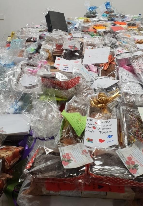 ילדי רמלה למען הקהילה בפרויקט עוגה לשבת 1