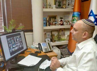 ראש העיר יאיר רביבו, ככה עובד ארגון מקצועי וחדשני, המציג איכות ומצוינות ניהולית