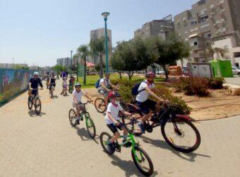 מעלים את הדופק במסע אופניים בלוד עד לשטח יער בן שמן