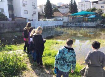 תלמידי הפרויקט, חשוב לשמור על הסביבה, על נחלת הכלל והפרט