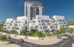 בנייני בוטיק- פרויקט מערב רחובות- אביסרור משה ובניו-S.Aצילום אוויר