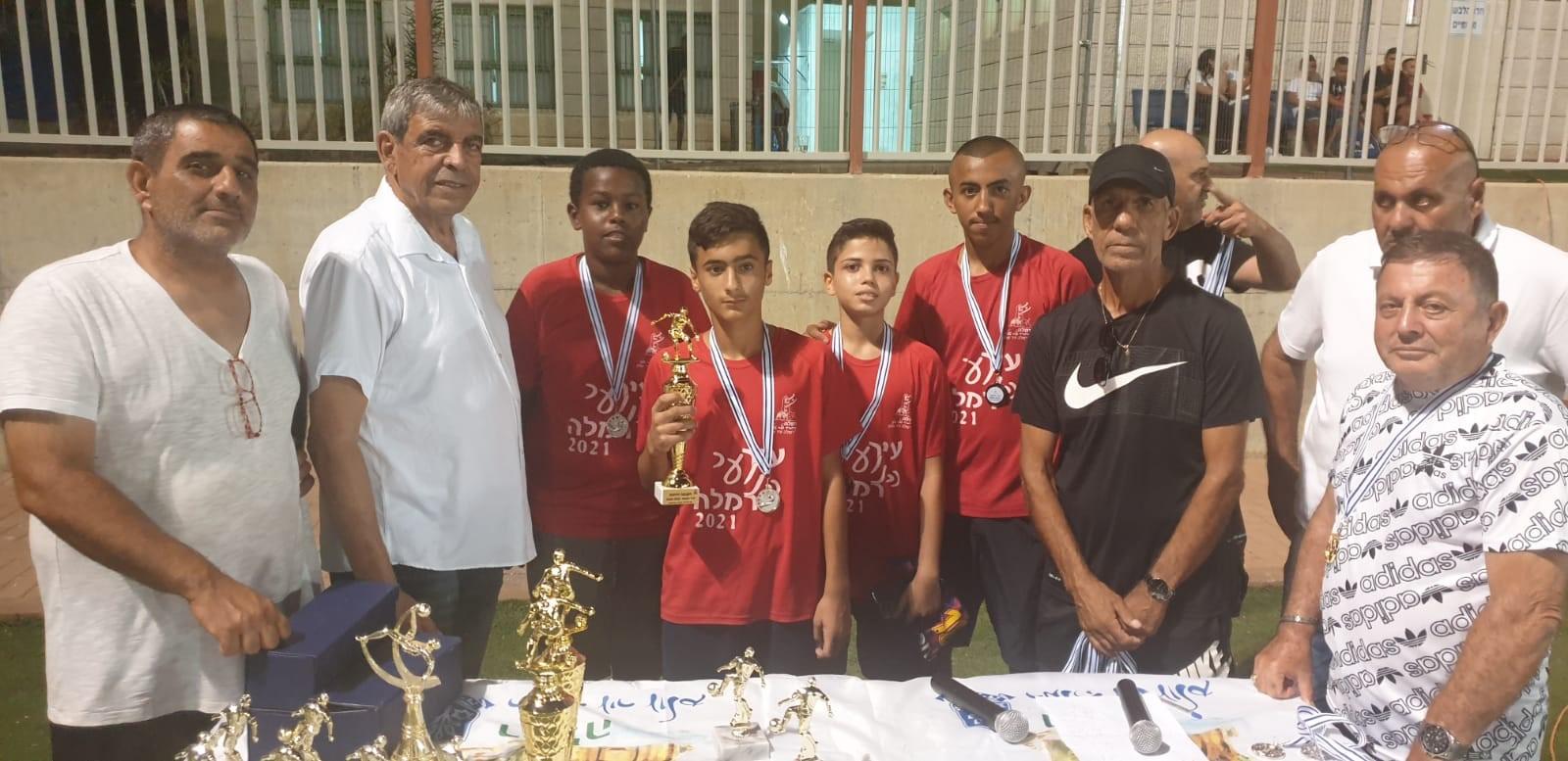 סיום טורניר ליגת שכונות עיר הנוער ברמלה 1
