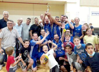 הגביע הוא שלנו, בסיום ליגת הקהילות בכדורסל בלוד