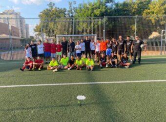 משתתפי טורניר ליגת הנערים בכדורגל בלוד